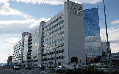 Spain, Avenida de Navarra, Clinica Universitaria de Navarra